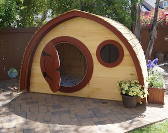 Outdoor Playhouse Etsy