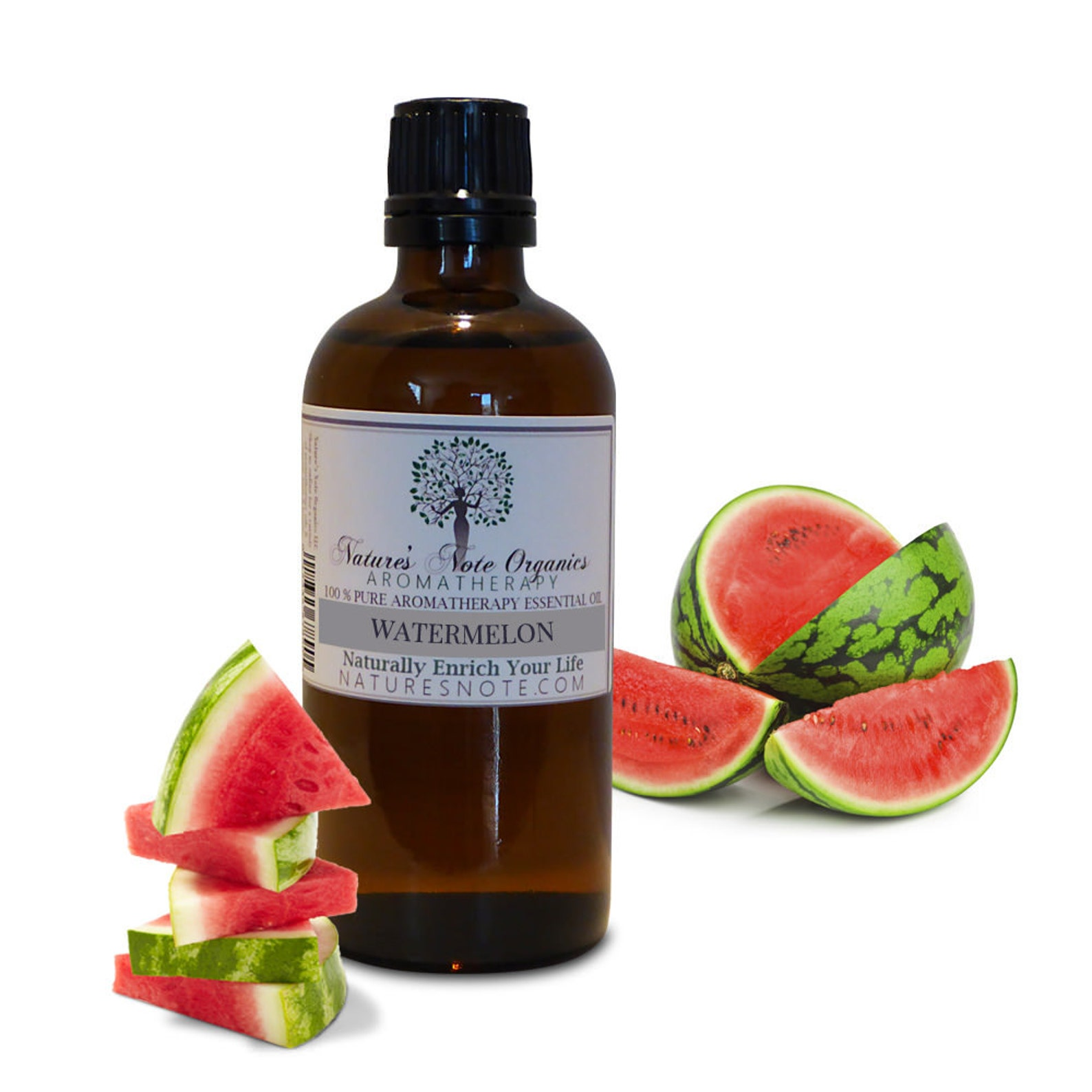 Watermelon Essential Oil | 15 Essential Oils That Are Perfect for The Summer Solstice (plus great ideas for how to use them!)