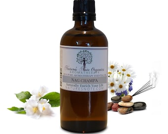 Nag Champa Essential oil - 100% Pure Aromatherapy Grade Essential oil by Nature's Note Organics