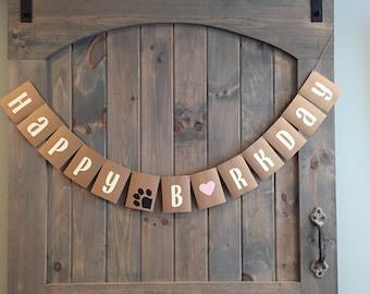 happy barkday, barkday banner, happy birthday banner, dog banner, dog birthday banner, birthday decoration, happy barkday, pet birthday