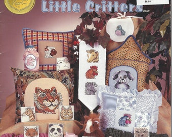 """Clearance- """"Little Critters"""" Counted Cross Stitch by Cross My Heart"""