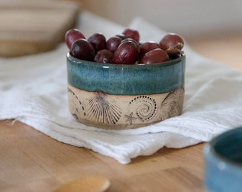 Breakfast Bowl - Succulent planter - Small pottery bowl