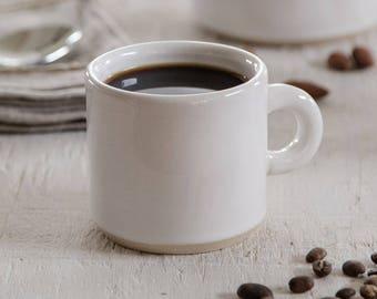 Coffee Craver Cappuccino Mug - Handmade Pottery Mug -8 oz mug