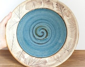 Handmade Dinner Plate - Woodland or Beachcomber