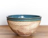 Pottery Serving Bowl -Pottery Bowl