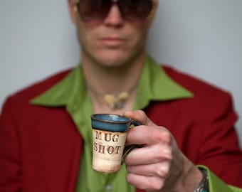 Shot glass - Mug Shot - Espresso shot - Demitasse cup - 2 ounce shot glass