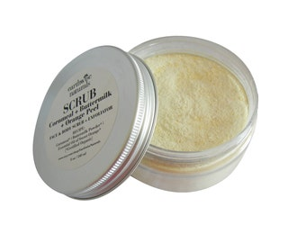 SCRUB Facial Exfoliator | Cornmeal + Buttermilk + Orange Peel