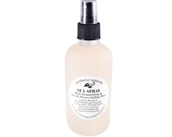 Sea Salt Hair Spray | SEA SPRAY  Hair Volumizer | Texturing Beach Waves Styling Spray w/Sea Kelp & Panthenol - 3 Scents