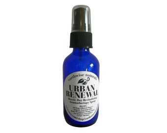 URBAN RENEWAL(Tm) | Hectic Day Revitalizing Organic Aromatherapy Spray | 2 oz