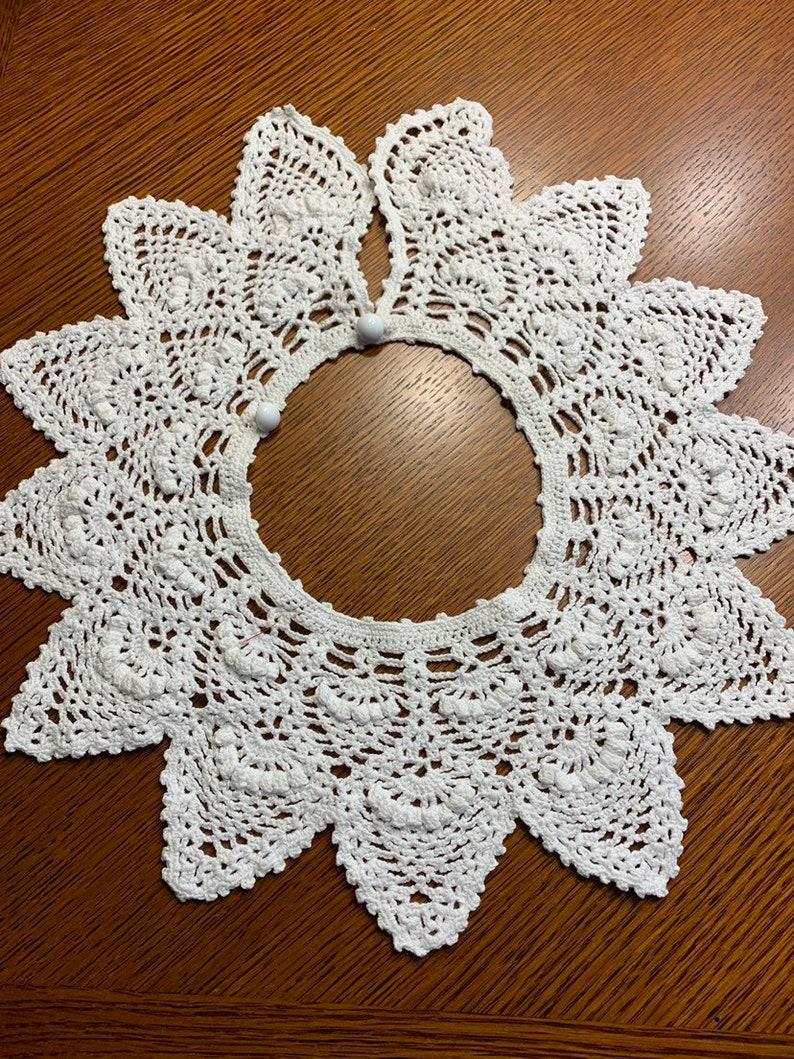 Ravelry: 'peter pan' collar pattern by Julie Williams | 1059x794