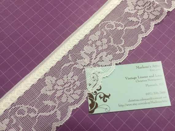 5 yards 3//4 inch Violet Lace