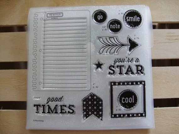 Rubber Stamps New Polymer Stamps Close To My Heart Etsy