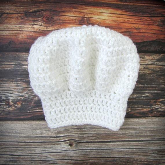 Sombrero bebé cocinero / Chef Hat foto Prop / recién nacido | Etsy