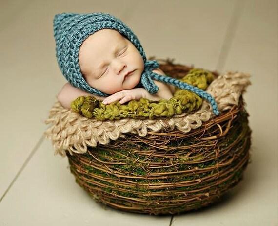 Häkeln Baby Mütze / Neugeborenen Motorhaube / Neugeborenen   Etsy
