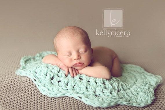 Baby Blanket Newborn Blanket Basket Stuffer Newborn Prop Etsy