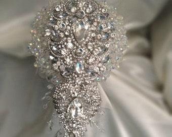 Crystal Sensational brooch  bouquet