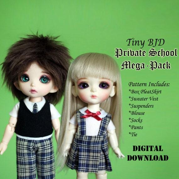 Outfit Tiny Clothes BjdPukifee Sized Yellowamp; School Mega Uniform Boy Girl Private Doll Dolls Pattern Similar Lati For Pack wlPZTuOkXi