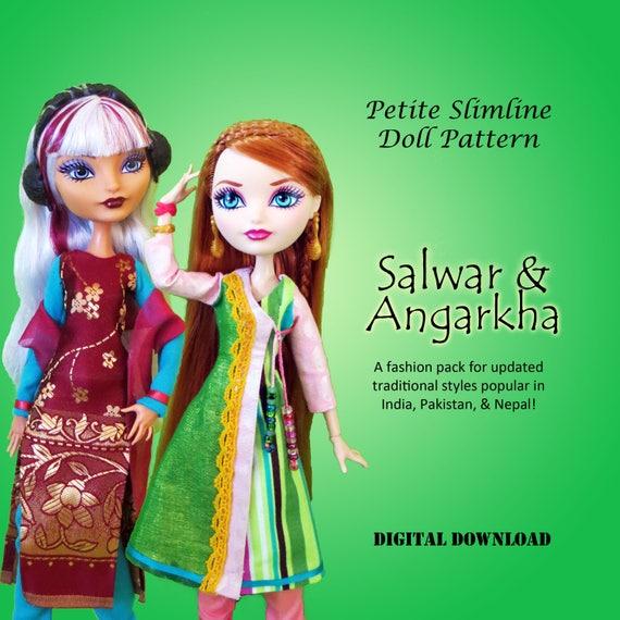 Angarkha Angrakha Salwar Shalwar Boho Sewing Pattern For Etsy