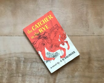 The Catcher In The Rye, JD Salinger, Vintage Book