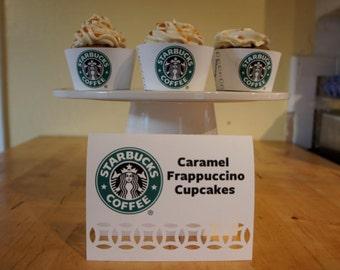 Starbucks Dessert/Candy Table Labels