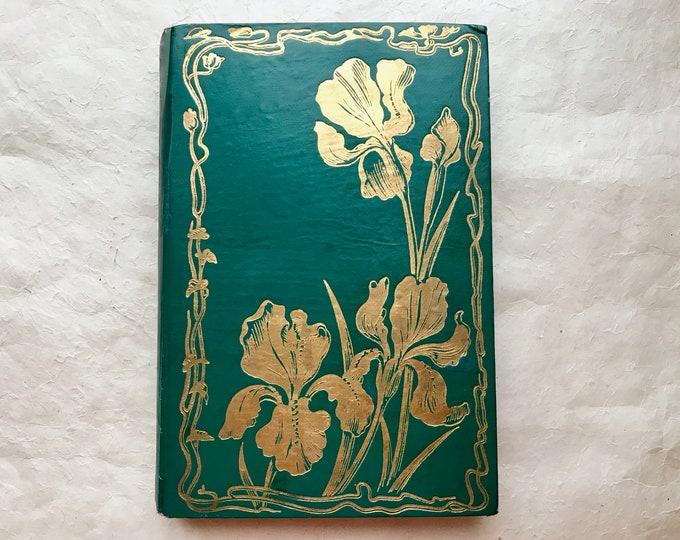 Romantic Wedding Guestbooks, Anniversary Photo Scrapbooks, Custom Made Large Green Blank Book