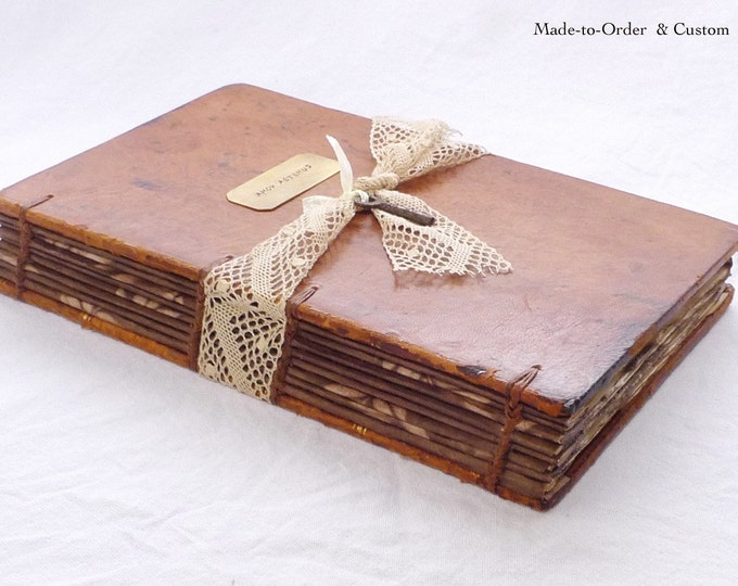 Engagement Idea, Hollow Book, Personalized Ring Box, Wedding Keepsake for Rings, Proposal Idea, Unique Book Safe from antique French book