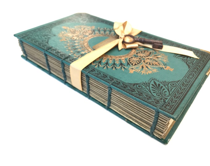 Pop the Question Storybook Proposal Idea with Blank Pages for Writing, Option to add illustrations, Made from an Antique French Book