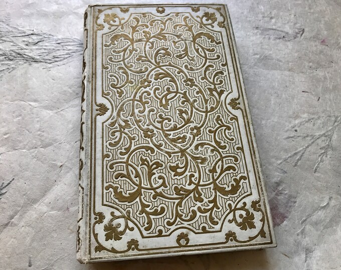 Custom Wedding Guestbook, Anniversary Journal, Blank Diary for Writers, Artists, Bohemians & Francophiles
