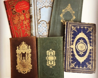 Coptic Journals made from Vintage Books, Personalized Blank Books for Sketching and Writing, Christmas Gift Idea