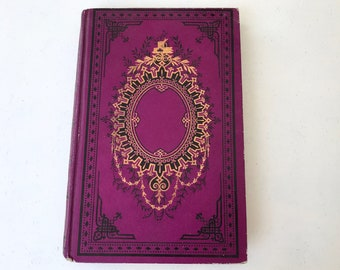 Fairytale Guestbook Boho Journal Gift Idea, Large Romantic Blank Book with Photo Scrapbook Option