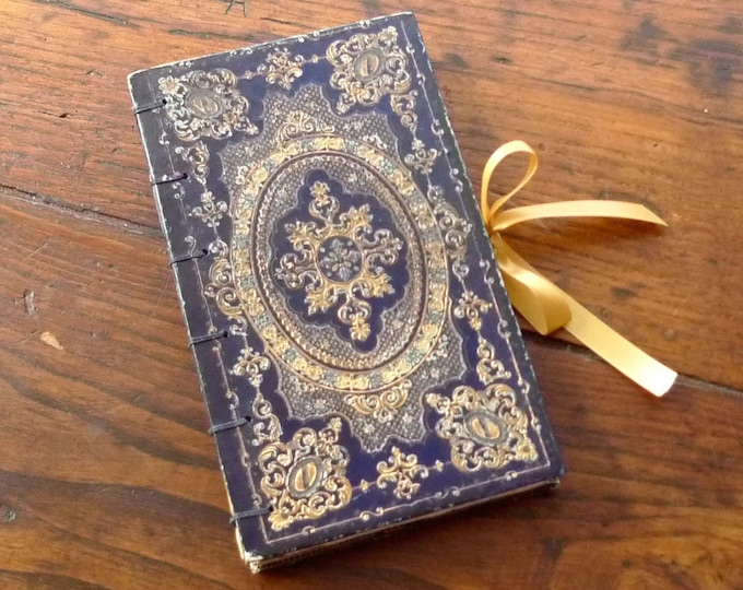 Engagement Ring Book Safe, Custom Proposal Ring Box, Ornate Jewelry Box, Keepsake Hollow Book, Secret Safe, Upcycled Antique French Book