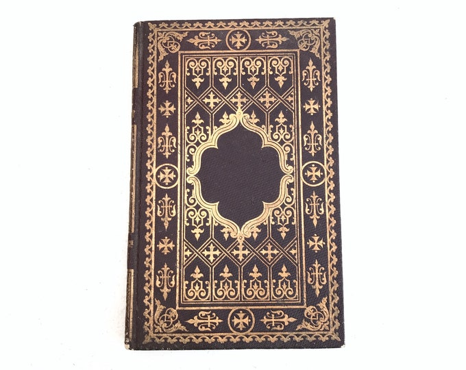 Wedding Guestbook, Antique Book Journal, Custom Blank Book, Handmade Guest Book, Memorial Keepsake, Gift Idea