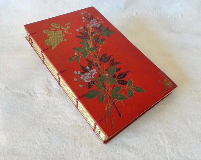 Custom Coptic Journal, Artist Sketchbook, Unique blank books made from Vintage Books, Gift Idea