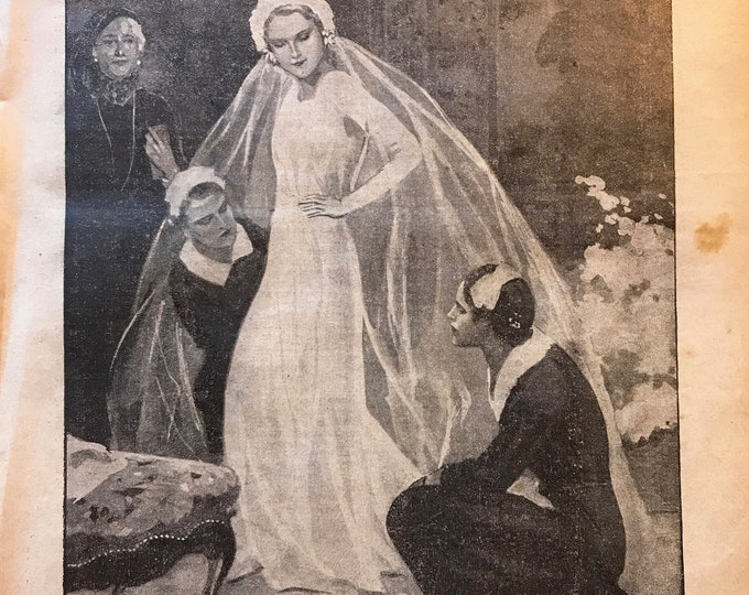 ADD ON: Romantic Vintage Wedding Illustrations to add to your Guestbook or Journal