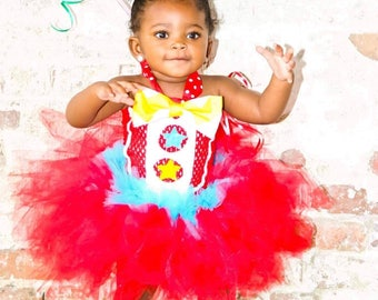 Clown Tutu Dress extra fluffy