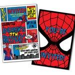 Superhero Invitation, Spiderman Birthday Invitations, Spiderman Invitation, Spiderman Party Invitations, Spider man Party, Invitation