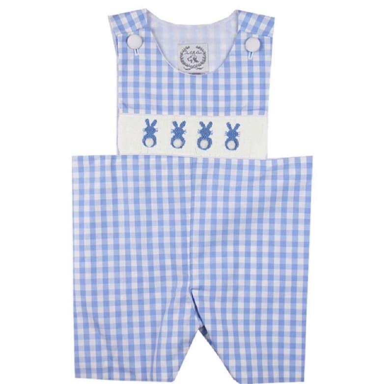 1826a19a3 Boy Bunny Shortall Boy Bunny Outfit Easter Outfit Boys