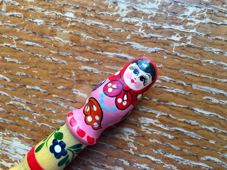 1970/'s Matryoshka Doll Giant Pencil