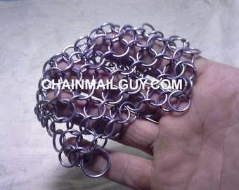 Chain Mail Pot Scrubber Square