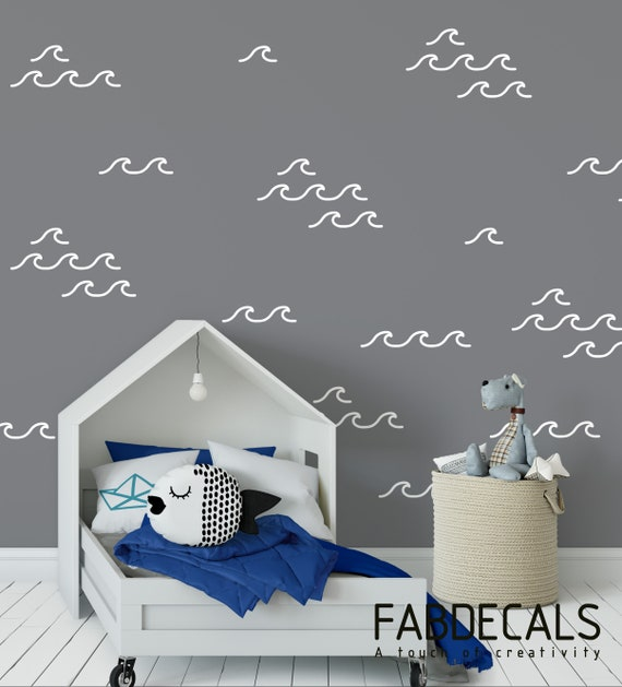 Details about  /3D Crystal Clear Waves 8976 Wallpaper Decal Dercor Home Kids Nursery Mural Home