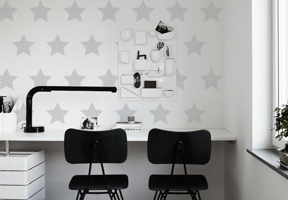 Étoiles bureau stickers muraux sticker mural étoiles décor etsy