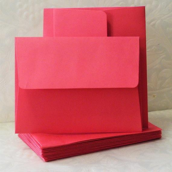 36 red envelopes wedding envelopes red invitation envelope etsy