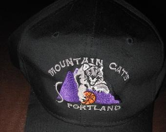 e05e12ed6e7 Portland Mountain Cats hat   cap - vintage 1990 s United States Basketball  League snapback - defunct team 90s USBL