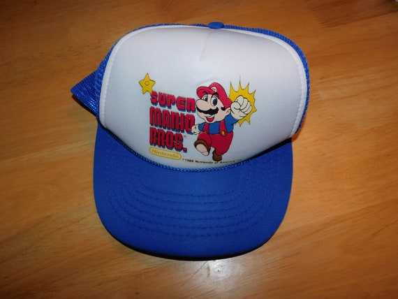 1988 Super Mario Brothers snapback hat - vintage 8
