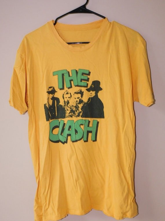 80s The Clash t shirt -  Joe Strummer / punk rock