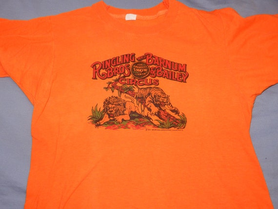 1979 Ringling Brothers Barnum & Bailey Circus t sh