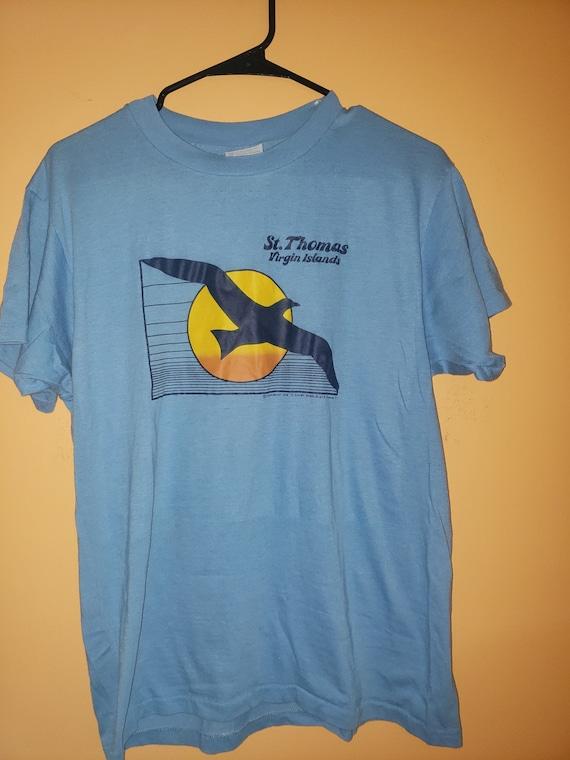 1970's St Thomas virgin islands t shirt - tourist