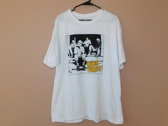 Minor Threat t shirt - DC Hardcore Punk sxe - XL