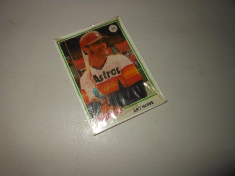 1978 Sealed Pack Burger King Baseball Cards Vintage 70s