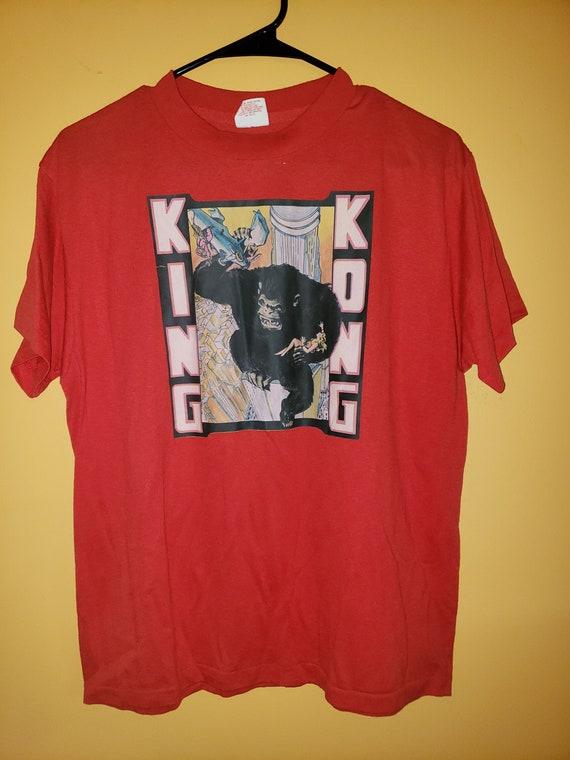 vintage 1980's King Kong t shirt - Large - horror